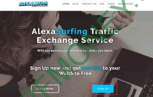 Регистрация в AlexaSurfing