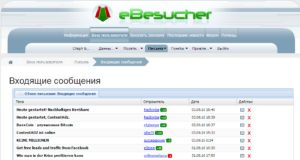 eBesucher script mail reader