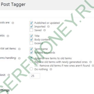 Automatic Post Tagger